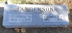 Velma Jennie <I>Thornber</I> Anderson