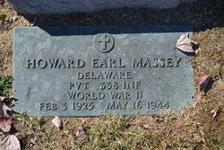 Pvt Howard Earl Massey