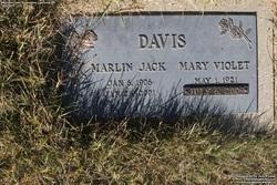 Mary Violet <I>Ryan</I> Davis