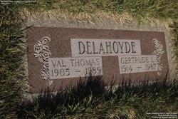 Gertrude Louise <I>Manning</I> Delahoyde