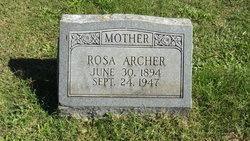 Rosa <I>Totten</I> Archer