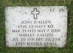 Shirley <I>Johnson</I> Allen