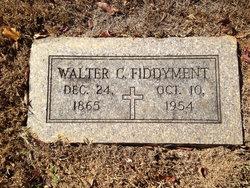 Walter C Fiddyment