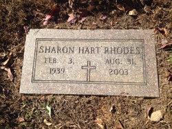 Sharon <I>Hart</I> Rhodes