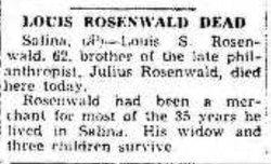 Louis S. Rosenwald