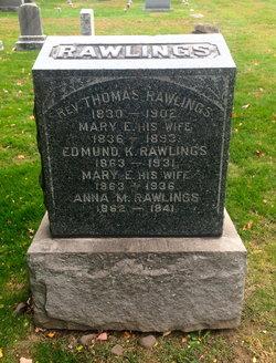 Mary E <I>Lamerson</I> Rawlings
