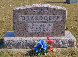 Charlie Jacob Deardorff