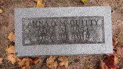 Annie Olivia <I>Lientz</I> McQuitty