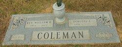 Elder William David Coleman