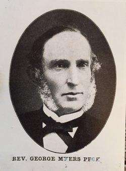 Rev George Myers Peck