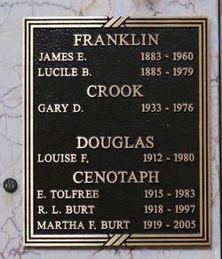 Louise <I>Franklin</I> Douglas