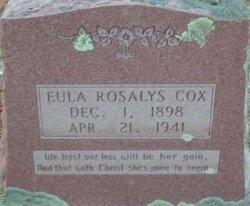Eula Rosalys Cox