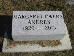 Margaret <I>Owens</I> Andres