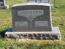 Alma <I>Swenson</I> Johnson