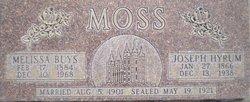 Joseph Hyrum Moss