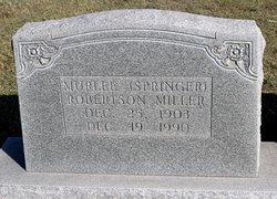 Murlee <I>Springer</I> Robertson Miller
