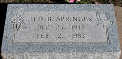 "Theodore Buchanan ""Ted"" Springer"