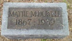 Mattie <I>Scarborough</I> McDowell
