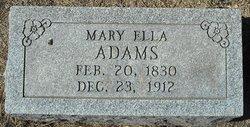 Mary Ella Adams