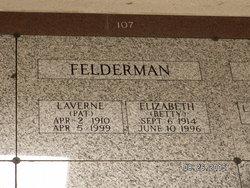 "LaVerne G ""Pat"" Felderman"