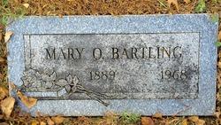 Mary O Bartling