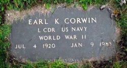 Earl K Corwin