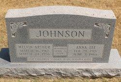 Anna Lee <I>Snider</I> Johnson