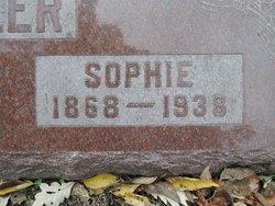 Sophia Marie Caroline <I>Holle</I> Stadtler