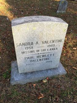 Sandra A. Valentine