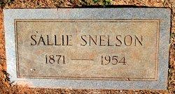 Sallie <I>Snelson</I> Bufford