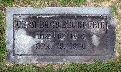 Annie Vera <I>Bagwell</I> Harbin