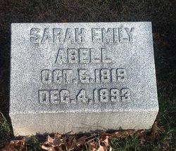 Sarah Emily <I>Cunningham</I> Abell