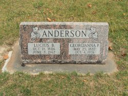 Georgianna Barker <I>Poppleton</I> Anderson