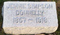 Jennie <I>Simpson</I> Donnelly