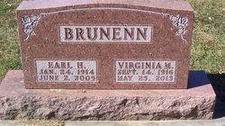 Virginia M <I>Gabel</I> Brunenn
