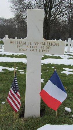 """Pvt William H """"Bill"""" Vermillion"""