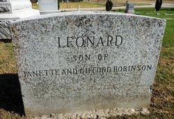Leonard Browning Robinson