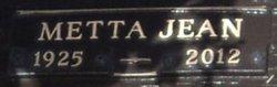 Metta Jean <I>Bushman</I> Dayhoff