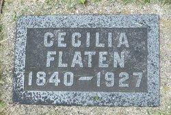 Cecelia Christensdatter <I>Kjornes</I> Flaten