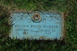 William Edwin Hairsine