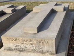 Sophia Bland <I>Mayo</I> Gaither