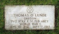 Thomas O Lunde