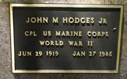 John Marion Hodges, Jr