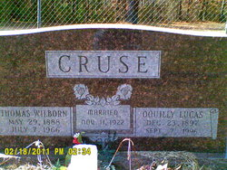 Oquilly G. <I>Lucas</I> Cruse