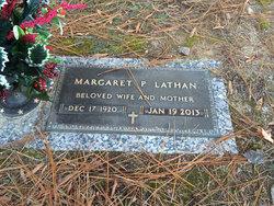 Margaret Ashe <I>Pratt</I> Lathan