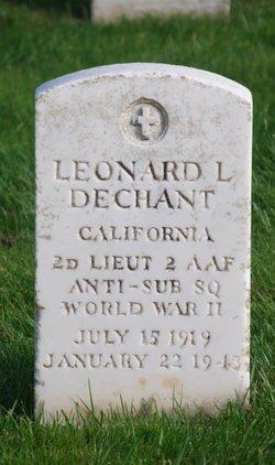 2LT Leonard L. Dechant