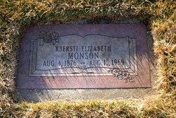 "Kjersti Elizabeth ""Betsey"" <I>Gealta</I> Monson"
