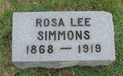 Rosa Lee <I>Hughes</I> Simmons