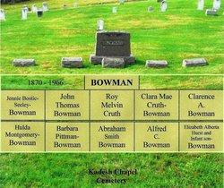 Jennie S <I>Bostic</I> Bowman