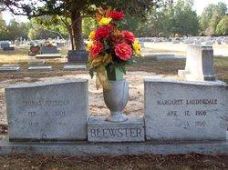 Margaret <I>Lavderdale</I> Blewster